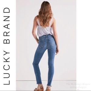 Lucky Brand Hayden Skinny Jeans High Rise